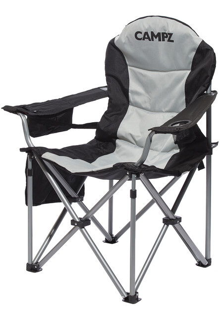 CAMPZ Deluxe Arm Chair black | Gode tilbud hos addnature.no